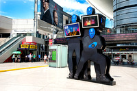 Blue Man Group Sign @ Fashion Show Mall